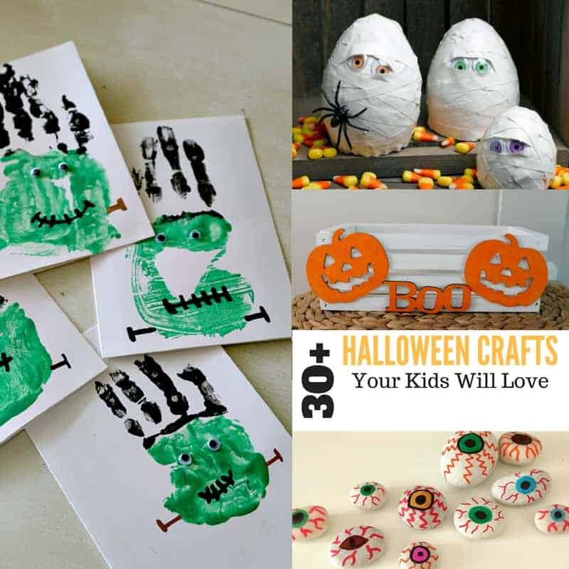 30+ Halloween Crafts for Kids - The Country Cook