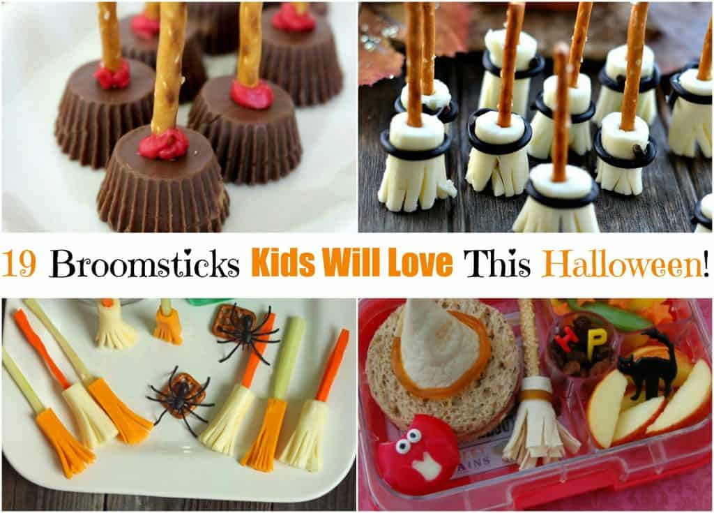 19 Broomstick Snacks Kids Will Love This Halloween