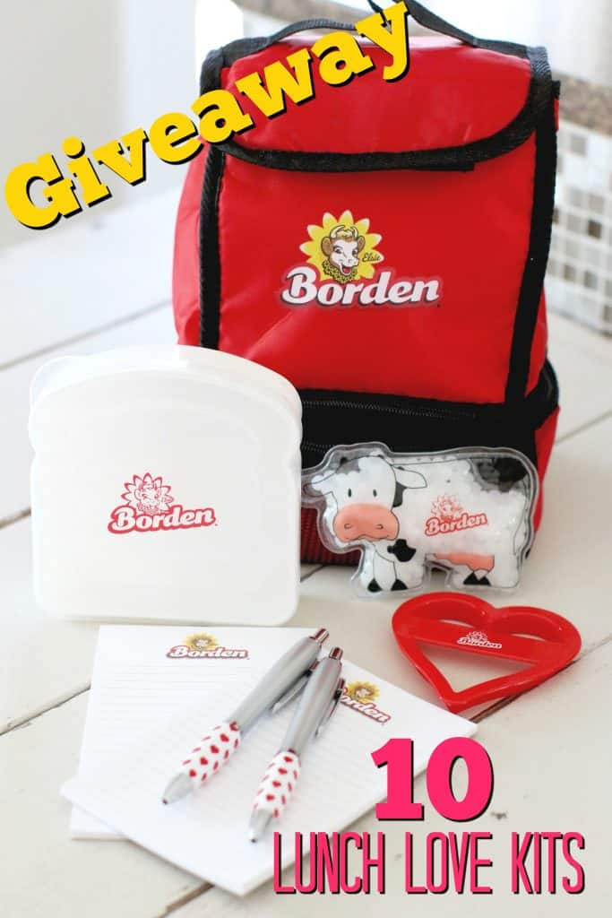Borden Cheese Lunch Love Kits