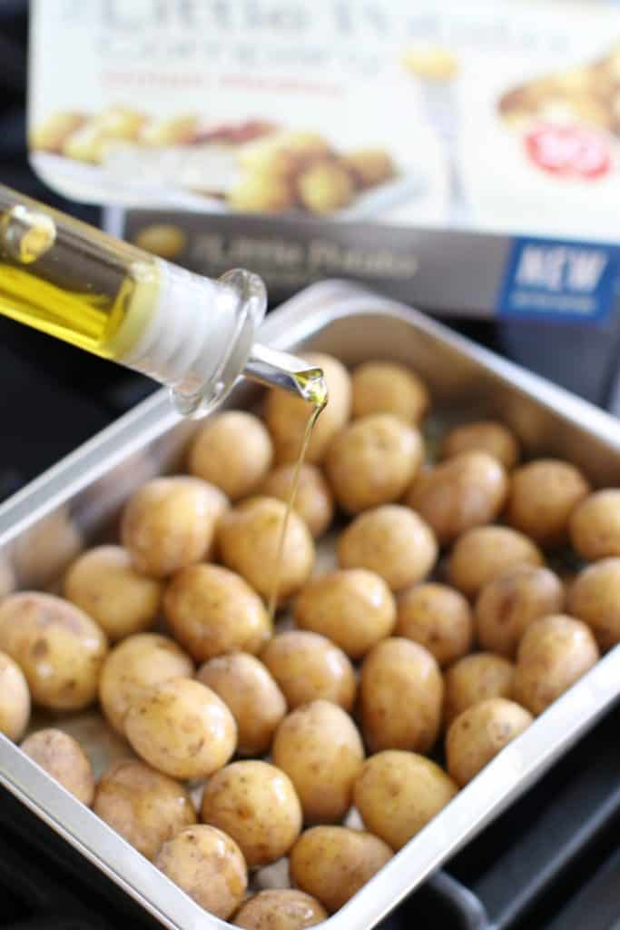 roasted potatoes with olive oil