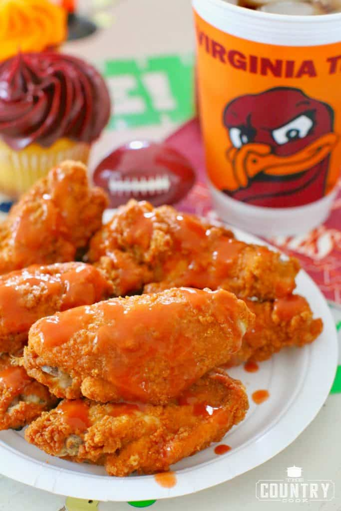 Kickin Chicken Wings and tailgating