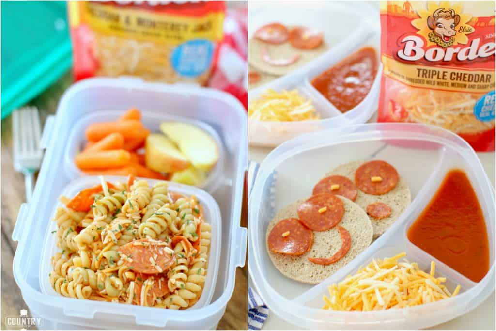 Easy to make school lunch ideas