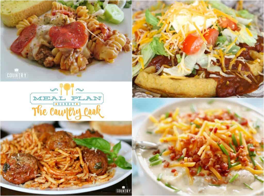 Crock Pot Spaghetti, Meal Plan Sunday 39