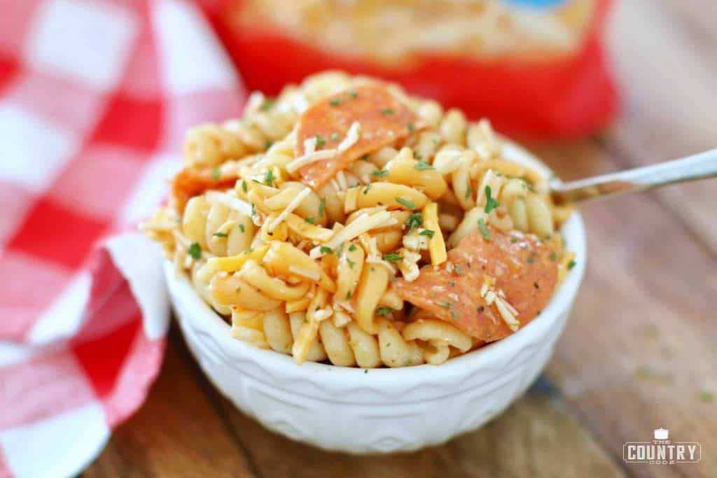 prepared bowl kid friendly pasta salad