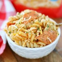 prepared bowl kid friendly pasta salad