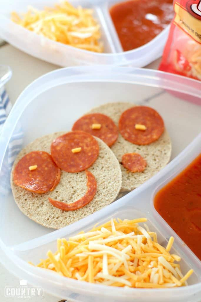 Pizza Lunchable with pepperoni, back to school, kids lunches