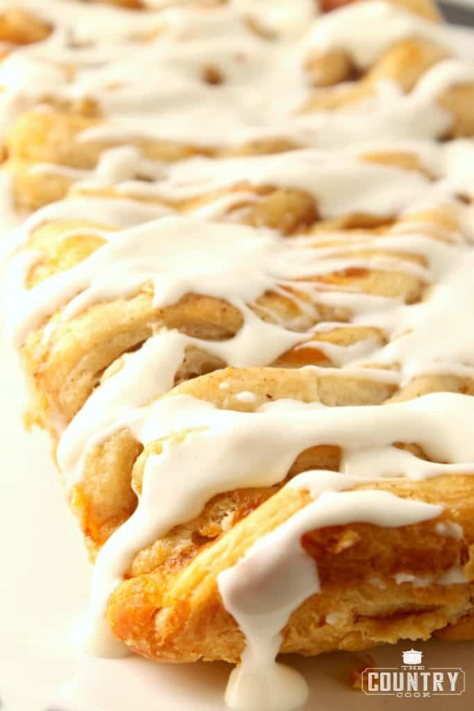 Pumpkin Pull Apart Bread with Canned Biscuits