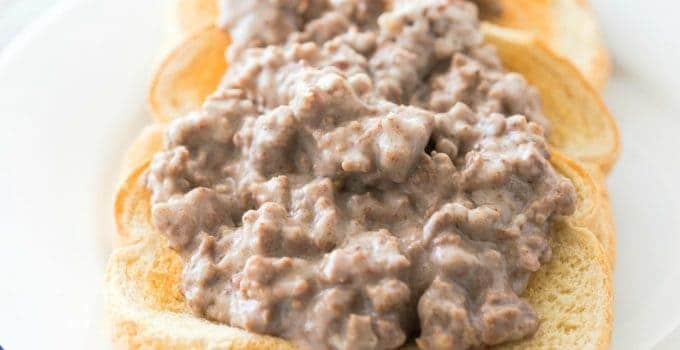 S.O.S. (CREAMY HAMBURGER GRAVY) +Video