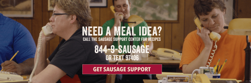 Johnsonville Sausage Support Center