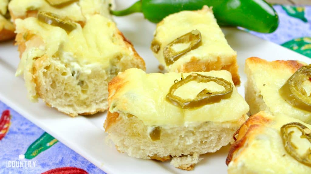Sliced Jalapeno Cheese Bread