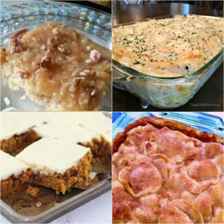 Apple Dumplings Cobbler ~ Weekend Potluck #291
