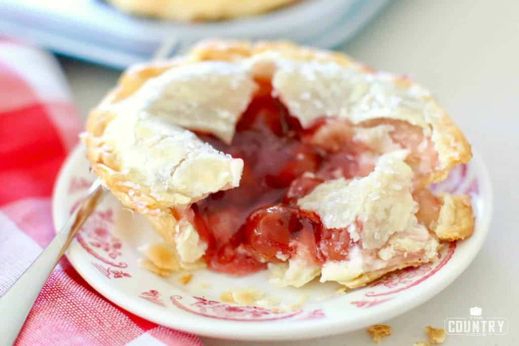 SLICE, Cherry Cheesecake Pie