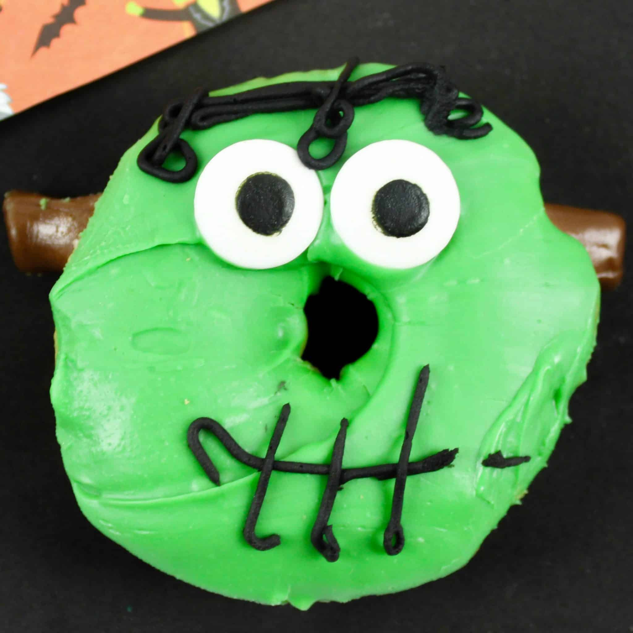 Frankenstein Donuts The Country Cook