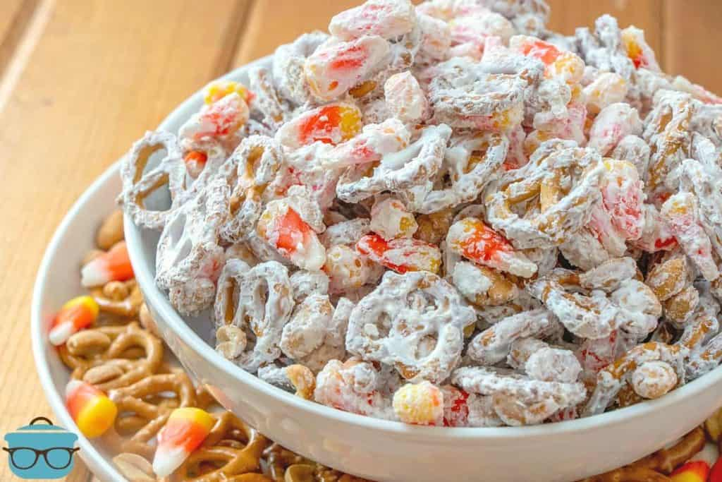 Halloween White Trash Party Snack Mix