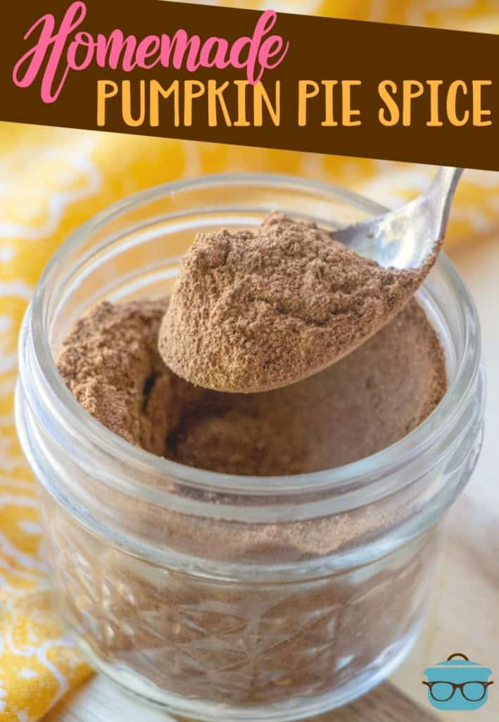 Homemade Pumpkin Pie Spice recipe from The Country Cook