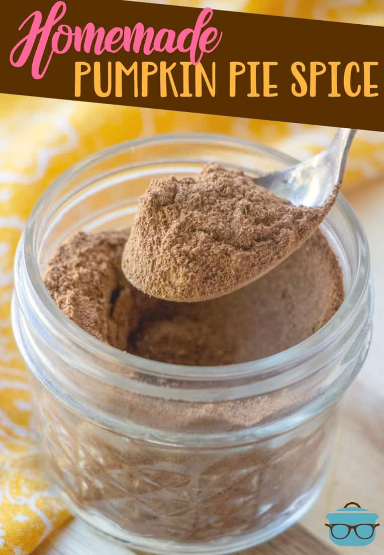 Want to get the perfect blend of spices to make your own Homemade Pumpkin Pie Spice Mix? This is it! All the flavors are perfectly balanced!