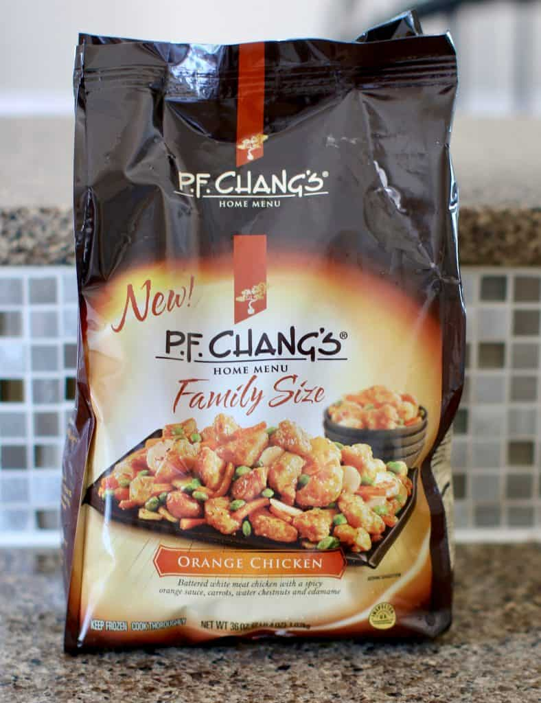 bag, Family Size Orange Chicken