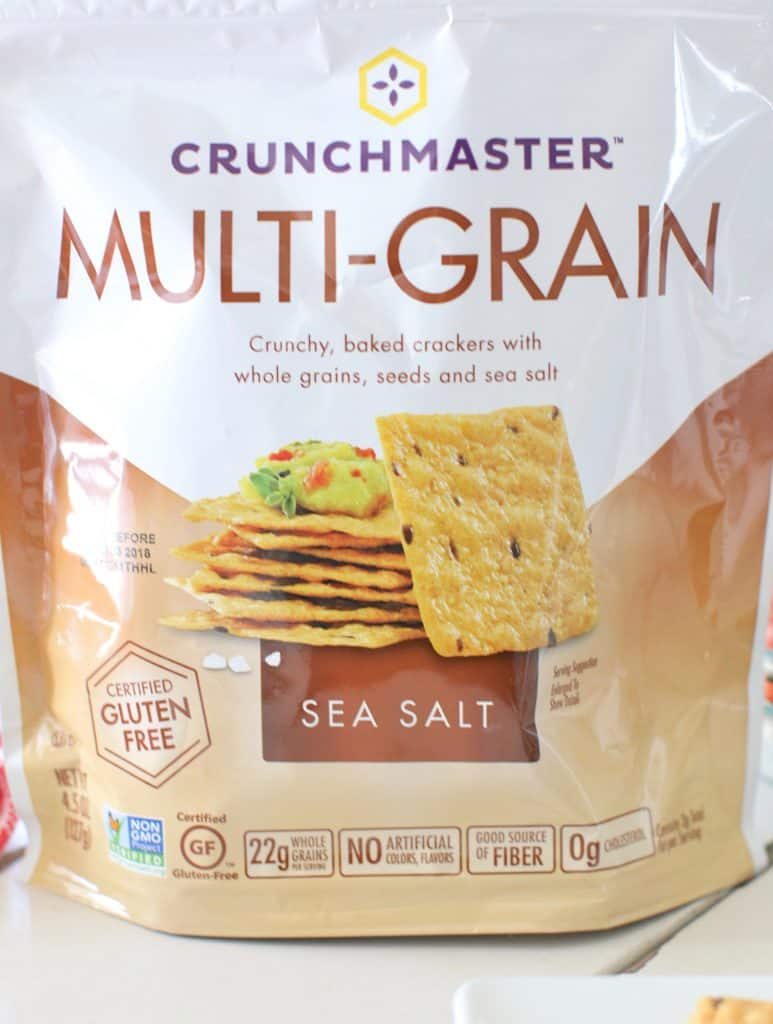 Crunchmaster Multi-Grain Sea Salt Gluten Free Crackers