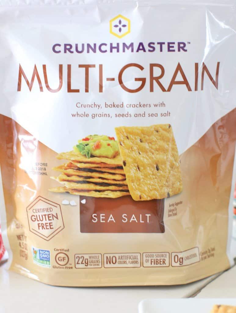 Crunchmaster Multi-Grain Sea Salt Gluten Free Crackers