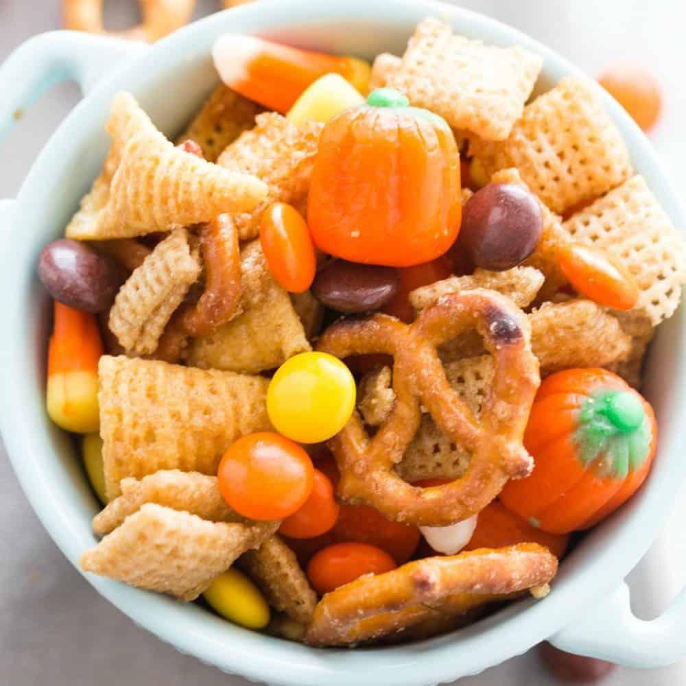 Sweet Harvest Chex Mix