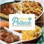 Easy Salisbury Steak ~ Weekend Potluck #300