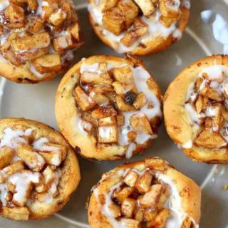 Easy Apple Pie Cinnamon Rolls