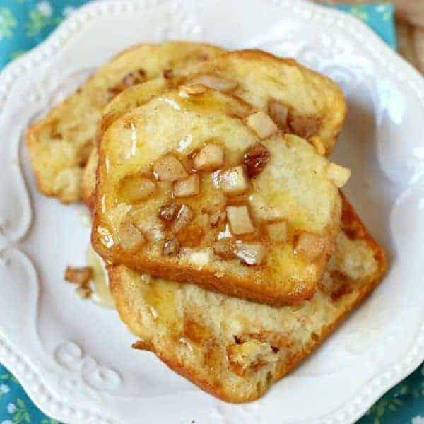Cinnamon Pull Aparts: Cinnamon Apple Pull-Apart Bread