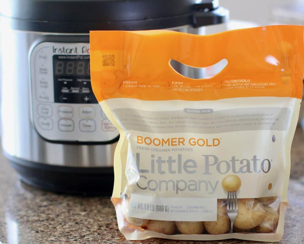 Boomer Gold Little Potatoes and the Instant Pot