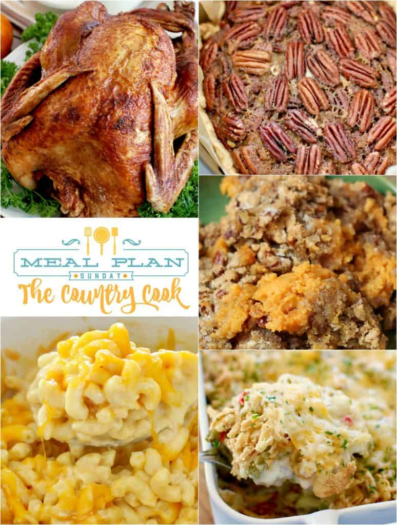 Thanksgiving Recipes - Meal Plan Sunday #46