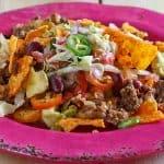 plated, Dorito Taco Casserole