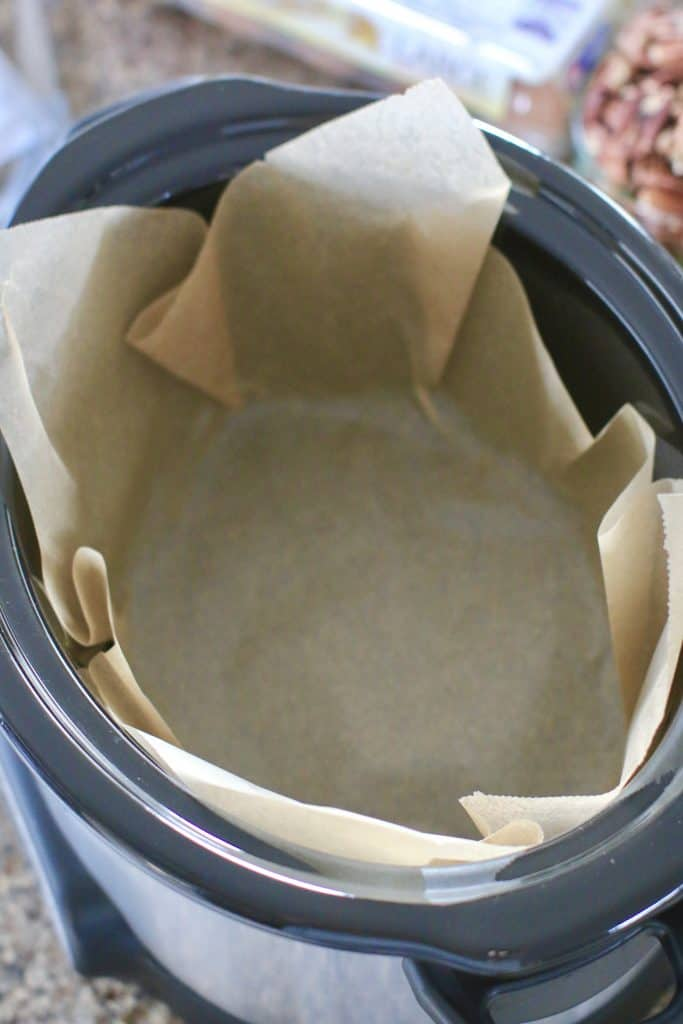 parchment paper in slow cooker