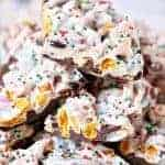 Mix-It-Up Christmas Candy Bark