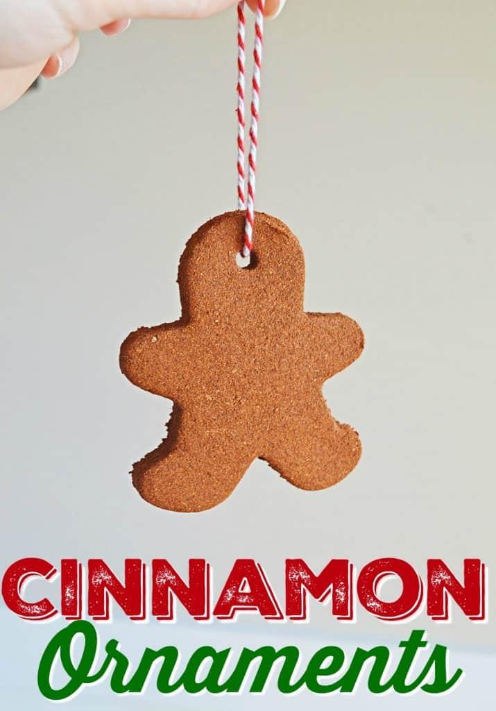 Cinnamon Christmas Tree Ornaments craft from The Country Cook