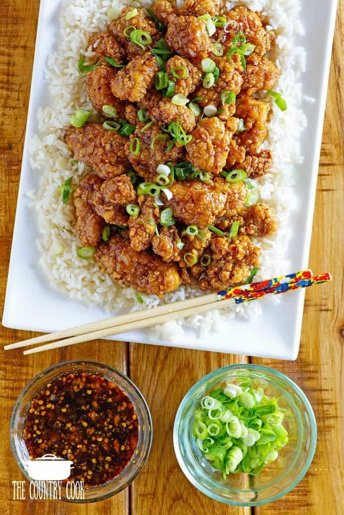 Easy Honey Garlic Glazed Chicken