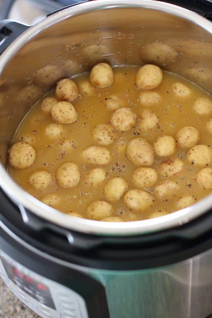 Little Potatoes in Instant Pot