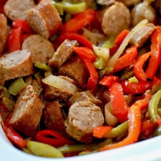 Sweet Italian Sausage and Peppers