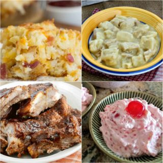 Mom's Creamy New York Fruit Salad ~ Weekend Potluck #305