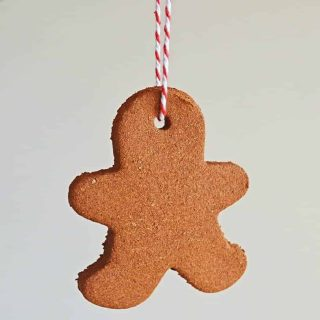 Homemade Cinnamon Ornament
