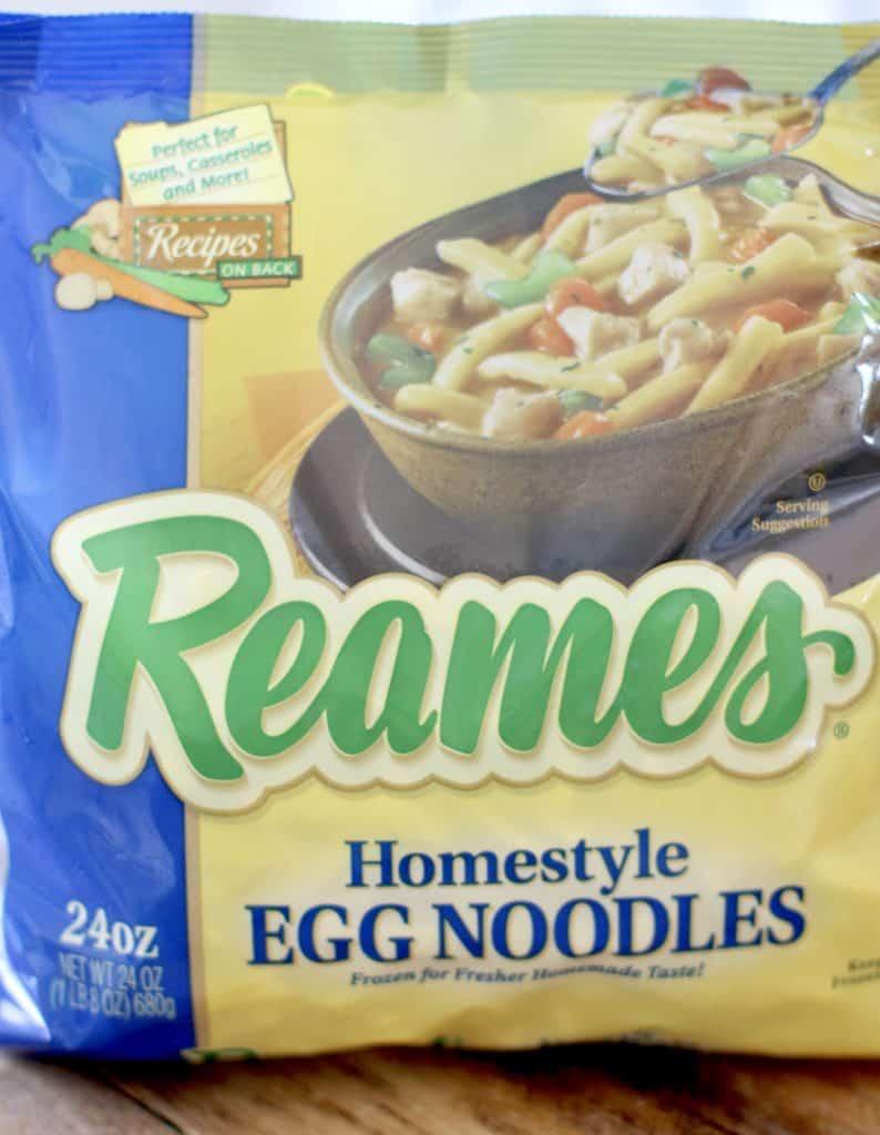 Reames Frozen Egg Noodles (24 oz bag)