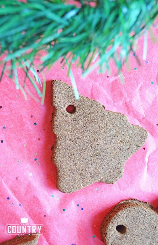Christmas Tree Cinnamon Ornaments