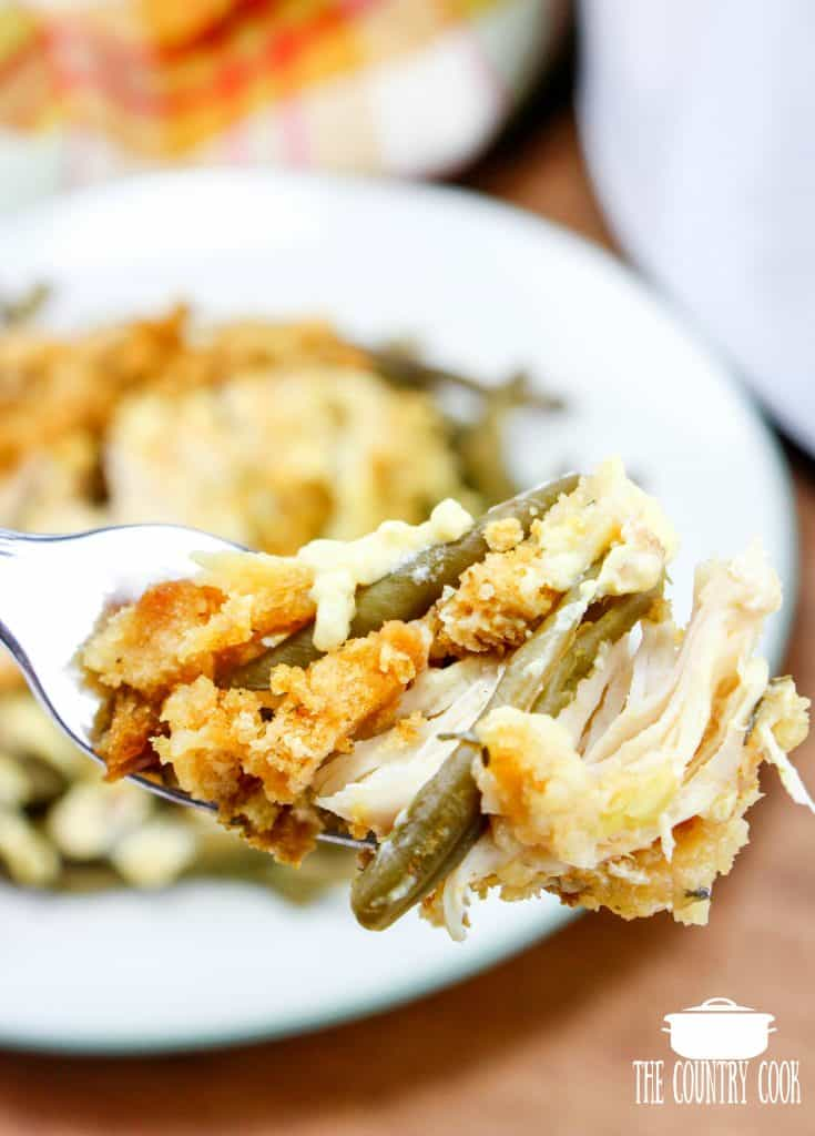Crock Pot Chicken & Stuffing Dinner