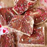 Valentine's Day No Bake Graham Cracker Toffee