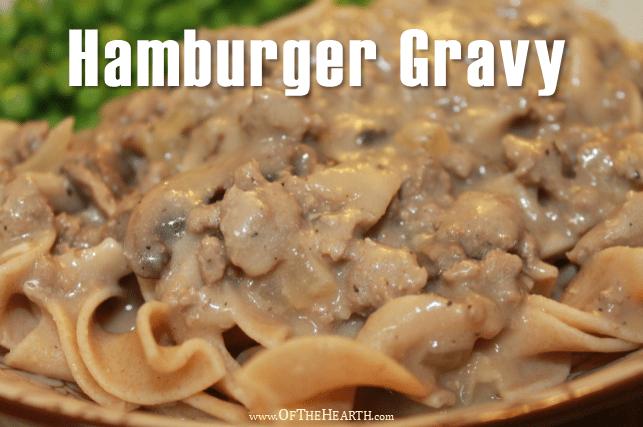 Hamburger Gravy