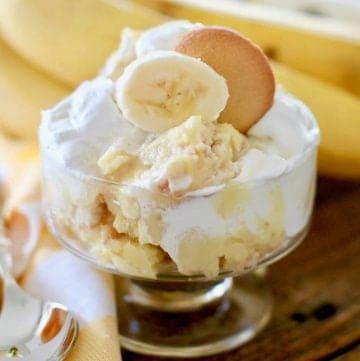 Healthier Southern Banana Pudding
