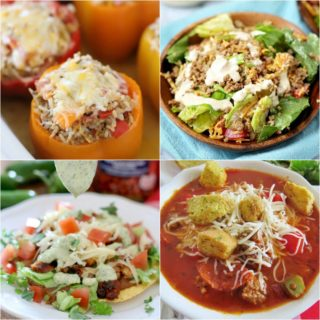 Stuffed Peppers at Meal Plan Sunday #51