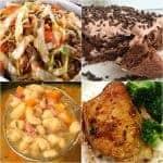 Slow Cooker Ham Bean Soup ~ Weekend Potluck #307