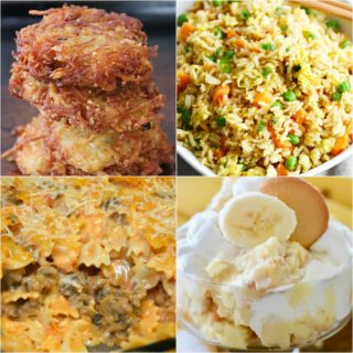 Potato Pancakes ~ Weekend Potluck #309