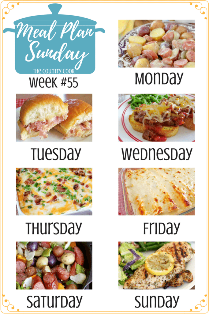 Meal Plan Sunday #55