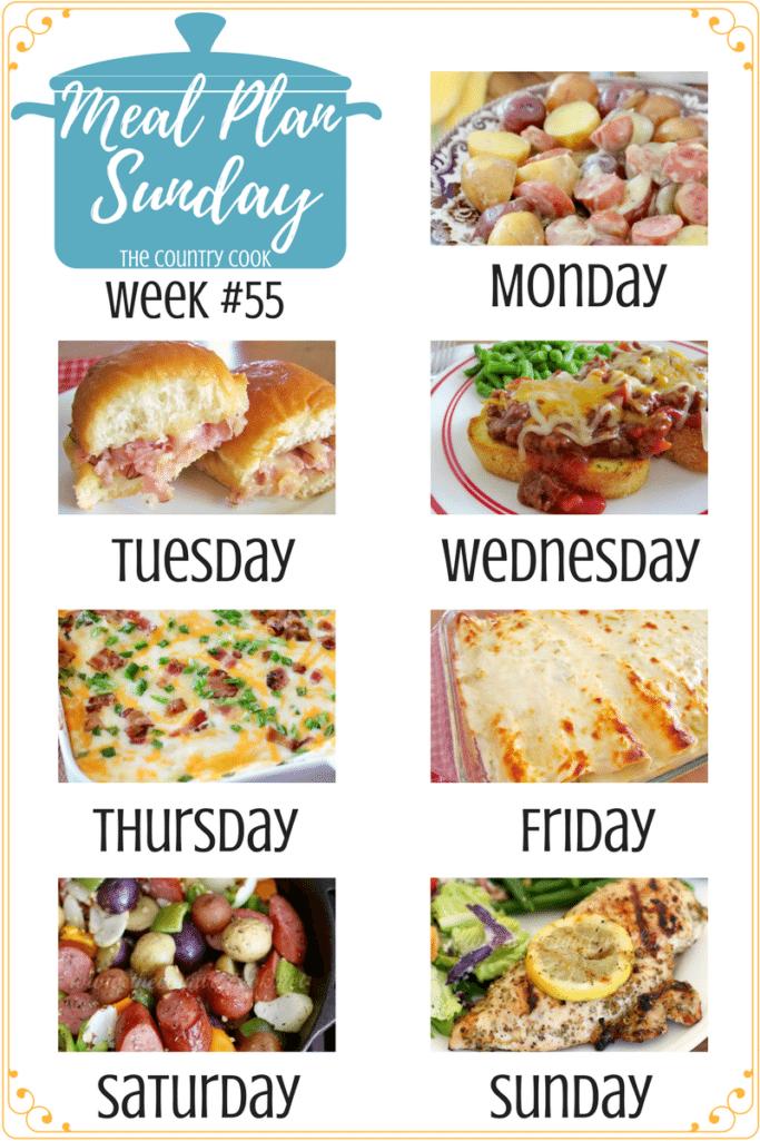 Meal Plan Sunday #55