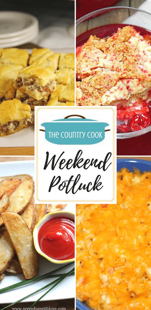 Weekend Potluck 311 - Crescent Sausage Bites